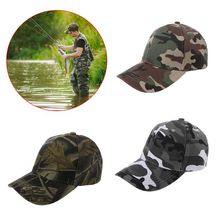 Fishing Hat Camouflage Sunhat Outdoor Sports Cycling Hiking