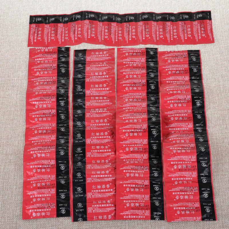 Grosir Kondom 50 Pcs Seks Panas Produk Kualitas Terbaik, Kondom dengan Minyak Paket Ritel Kondom Aman Kontrasepsi