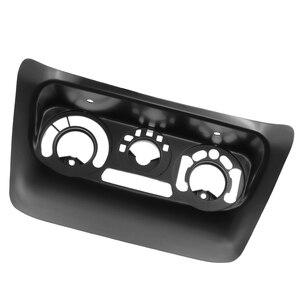 Image 3 - 2pcs AC Control Panel Car Radio Fascia for Mitsubishi Lancer IX 2006 Center Control DVD Player Trim Kit 2 Din Frame for Radio