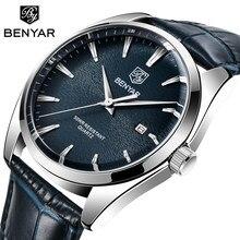 BENYAR männer Uhren marke luxus quarzuhr für männer 50M Wasserdicht MIYOTA Bewegung Mode beiläufige uhr männer Relogio masculino