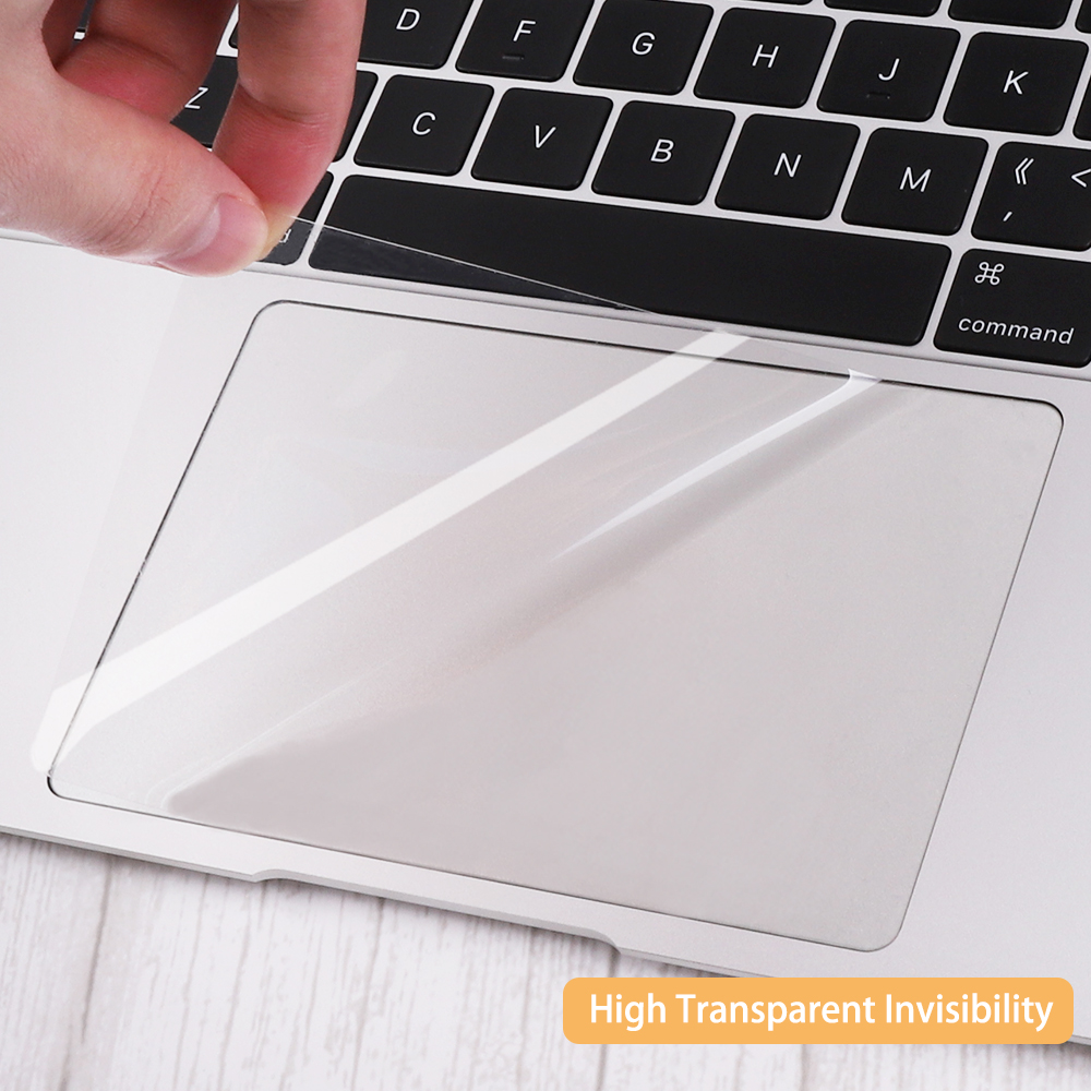 Redlai <font><b>Trackpad</b></font> Protector for MacBook Pro 16 inch A2141 2019 Pro Air 13 A2159 <font><b>A1932</b></font> A2179 Clear Anti-Scratch Touchpad Cover Skin image