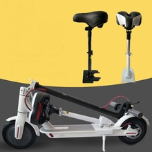 Electric Skateboard Saddle for Xiaomi Mijia M365 Scooter Foldable Shock Comfortable Folding Chair Absorbing Seat Easy Install foldable saddle for h8 electric scooter
