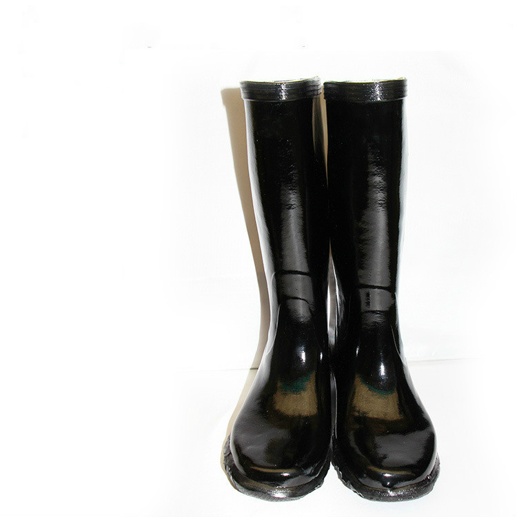 Acid And Alkali Resistant Rubber Boots, Acid And Alkali Resistant, Oil Resistant, Antiskid And Wear-resistant High Boots