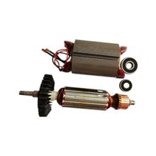 AC220-240V wirnik stojan dla Makita szlifierka kątowa GA5030 GA4530 GA4030 GA5034 GA4534 GA4031 GA4030R GA4034 tanie tanio CN (pochodzenie) NONE ELECTRICAL Silver Black metal
