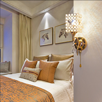 wall lamp of the head of a bed sitting room of contemporary and contracted staircase corridor lamps and lanterns