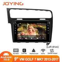 Radio con GPS para coche, Radio con Android 10 de 9 pulgadas, DSP, SPDIF, DAB, Subwoofer, 5GWIFI, Salida Óptica, DVR, OBD, para VW, Volkswagen, Golf 7, MK7, 2004-2012