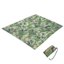 Camouflage-Blanket Camping-Mat Outdoor Picnic Beach Folding Waterproof Color Sand Hit