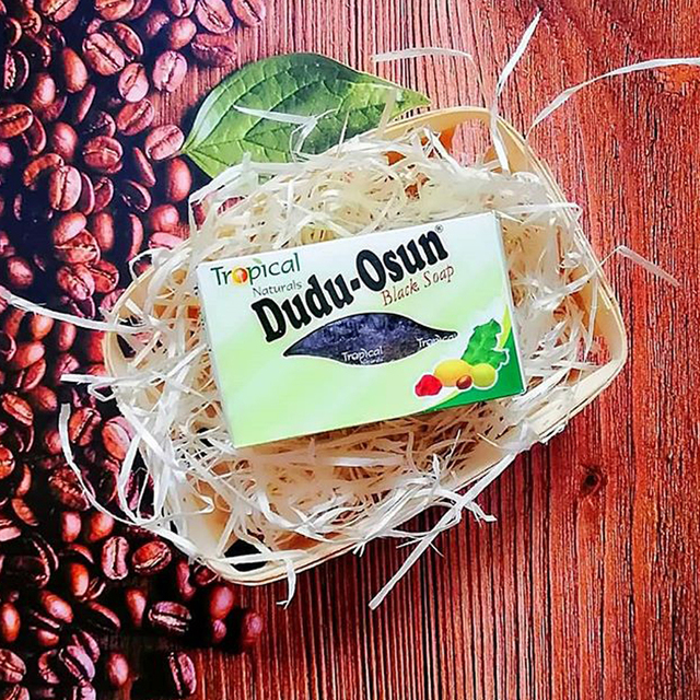 150g Tropical Dudu Osun African Natural Black Soap with Natural Ingredient African Soap Shea moisture Noir Honey Cocoa Aloe 5