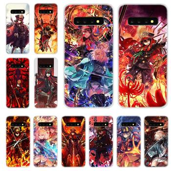 Soft Silicone TPU Case Cover For Samsung Galaxy S30 S20 S7 Edge S8 S9 S10 Plus S11 Lite Uitra Oda Nobunaga image