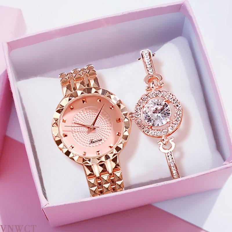 Women Watches Watch + bracelet Ladies Bracelet Watch womens quartz dress wristwatch feminino reloj mujer wrist watches for women