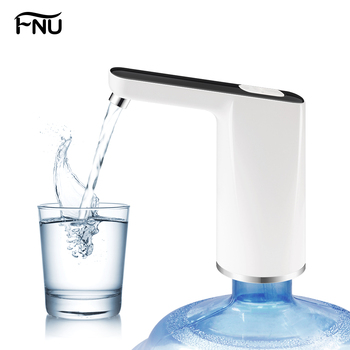 Home Gadgets Water Bottle Pump Mini Barreled Water Electric Pump USB Charge Automatic Portable Water Dispenser Drink Dispenser automatic electric beverage dispenser drink separator