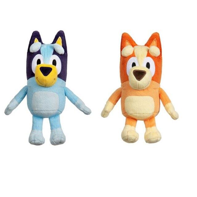 Newest BLUE and BINGO JUMBO Dog Friends TV Plush Toy Soft Movie Christmas Figure Toy Plush Collectible Gift Stuffed Animals