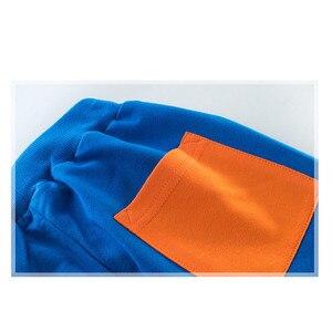 Image 5 - Kinder Kleidung Sport Anzug Für Jungen Und Mädchen Mit Kapuze Outwears Langarm Unisex Mantel Hosen Set Casual Trainingsanzug