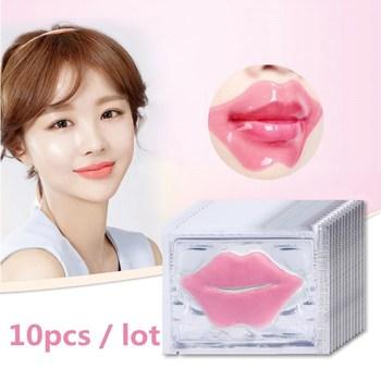 10 sztuk piękno Super Lip Plumper różowy kryształ kolagenowa maska na usta łatki wilgoci istotą zmarszczek Ance koreańskie kosmetyki do pielęgnacji skóry tanie i dobre opinie NoEnName_Null COMBO CN (pochodzenie) 6g *10pcs CHINA GZZZ ygzwbz GOOD 20170115115 Collagen Crystal Collagen Crystal Lip Care Mask
