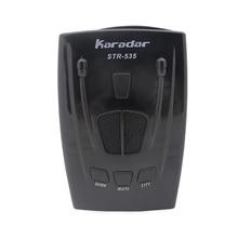 KARADAR автомобильный радар детектор STR535 значок дисплей X K Лазерная стрелка Анти радар детектор качество чисто мобильный камера детектор