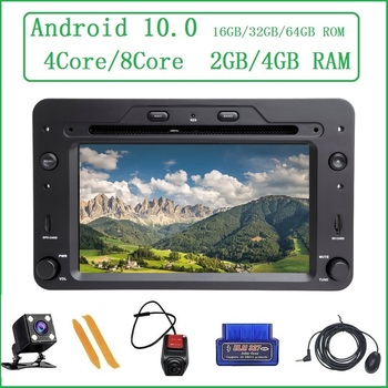 ZLTOOPAI Auto Radio Android 10.0 For Alfa Romeo Spider Brera 159 Sportwagon Car Multimedia Player GPS Navigation DVD Media Play