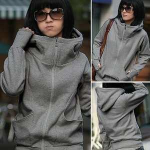 Spring Autumn Hoodies Sweatshirts Long-Sleeve Zipper Woman Women's New-Fashion Casual