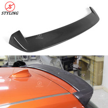 цена на Carbon Fiber Spoiler Wing For BMW F20 M135i 120i 118i 1 series F21 Rear trunk spoiler 3D Style 2012-20142015 2016 2017 2018 2019
