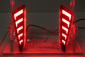 Image 5 - 1 סט LED DRL לטויוטה C HR CHR 2016 2017 2018 2019 בשעות היום ריצת אור אחורי זנב פגוש ערפל מנורה בלם אור אזהרת אור