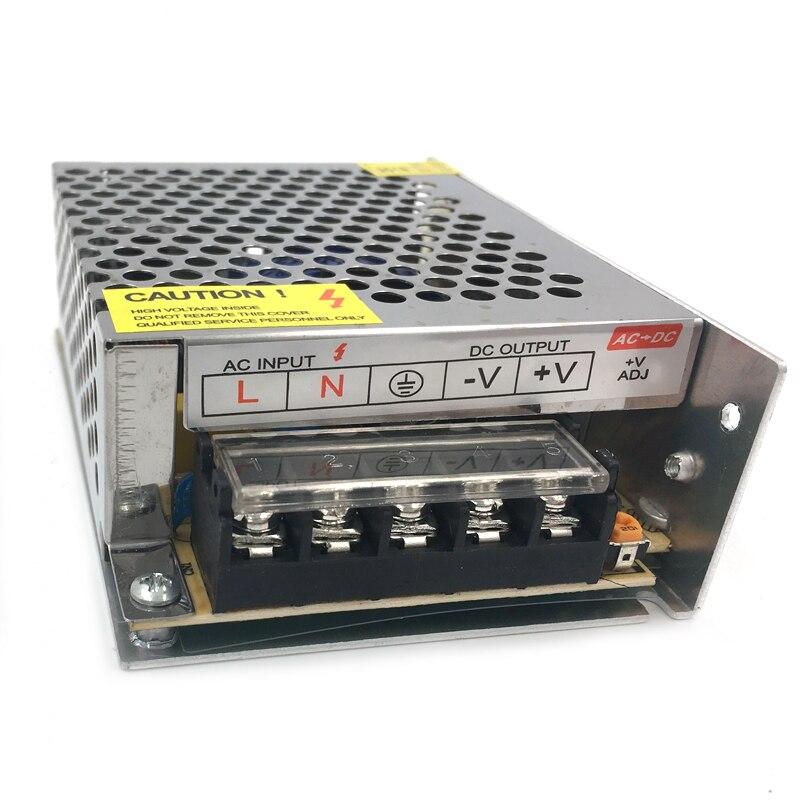 AC DC 12 V güç kaynağı 220V AC DC 12 V 1A 2A 3A 5A 10A 20A 30A 50A LED sürücü dönüştürücü 12 V Volt güç kaynağı adaptörü