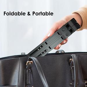 Image 5 - LINGCHEN soporte plegable para ordenador portátil, soporte de aleación de aluminio para MacBook Pro Air Notebook