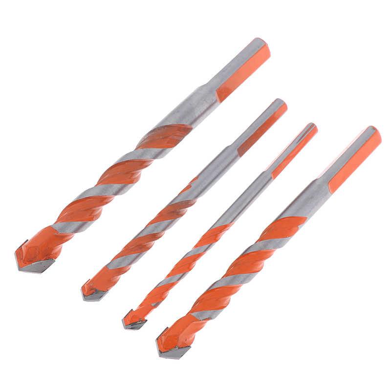1 Uds taladro para baldosas cerámicas brocas, juego de brocas de mampostería para vidrio, ladrillo, azulejo, hormigón, plástico y Punta de carburo de tungsteno de madera