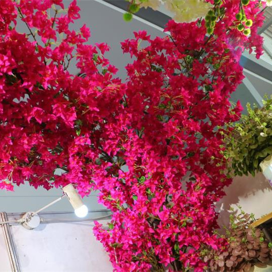 Manufacturers Wholesale Model Bougainvillea Engineering Landscape Tree Decoration Artificial Flower Bougainvillea