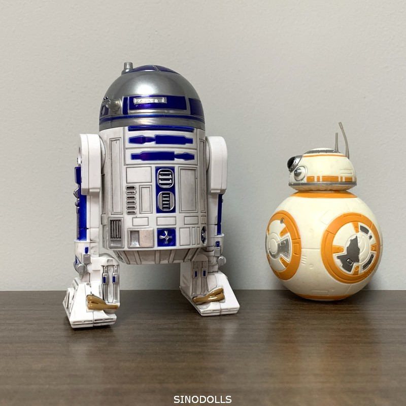 Star Wars Force Awakens R2D2 & BB8 Droid 7