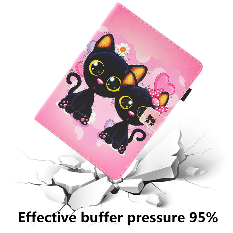 Cover iPad iPad 2019 For Cute Tablet Cat For 7th Unicorn Generation Case Case 10.2