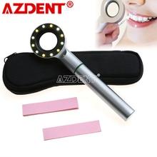 Dental Base Light LED Shade Matching Tooth Colorimetric Dental Dentistry Tricolor Lamp LED Colorimeter Oral