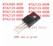 10 unidades de BTA208X 800F BTA212X 600B BTA212X 600D de BTA212X 600E de BTA212X 600F de BTA212X 800B de BTA212X 800E de BTA216X 600B de BTA216X 600D