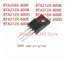 10PCS BTA208X-800F BTA212X-600B BTA212X-600D BTA212X-600E BTA212X-600F BTA212X-800B BTA212X-800E BTA216X-600B BTA216X-600D