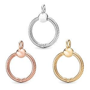 Новое поступление, круглые подвески Boosbiy, подвески для ожерелья оригинального бренда, подвеска с буквой о для женщин, изготовление ювелирны...