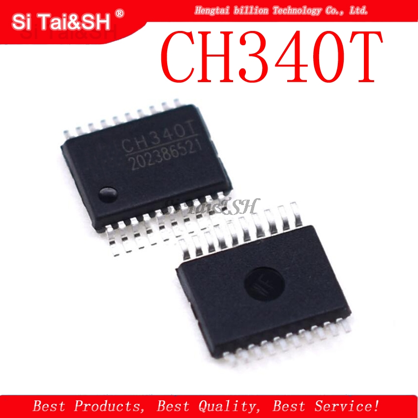 1pcs/lot CH340T SSOP20