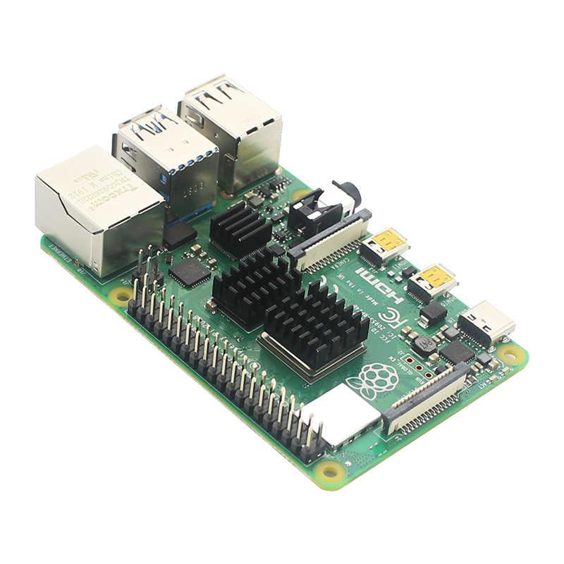 Raspberry Pi 4 Dissipatore di Calore In Alluminio Dissipatori di Calore Del Radiatore di Raffreddamento Verde Nero Argento Oro Pad di Raffreddamento per Raspberry Pi 4 Modello B