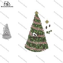 New Dies 2020 christmas tree Metal Cutting diy photo album cutting dies Scrapbooking Stencil die cut
