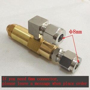 Image 5 - 68mm 0,5/0,8/1,0/1,2/1,5/2,0/2,5/3,0mm altöl brenner düse, luft zerstäubung düse, heizöl düse, volle kegel öl spray düse