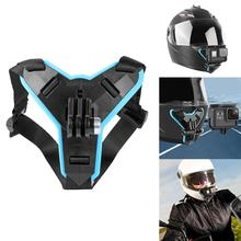 Motorcycle Helmet Chin Stand Mount Holder for GoPro Hero 8 7 6 5 Xiaomi Yi Action Sports Camera Full Face Holder Bracket