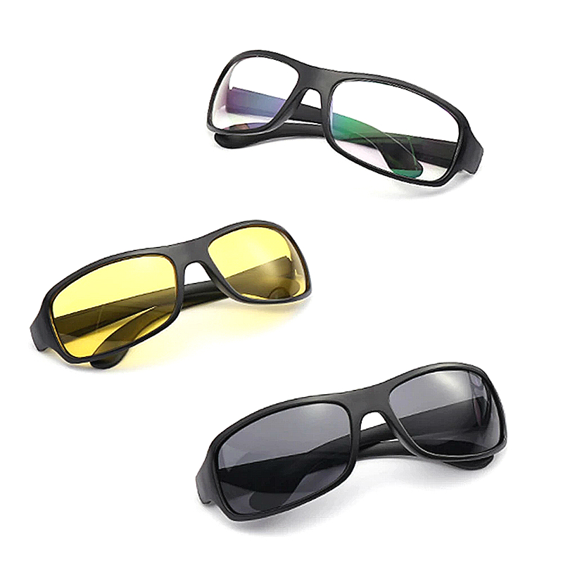 Модные дневной и ночной режимы автомобиля ночное видение драйвера очки анти блики ночного видения водительские очки ночного вождения Enhanced светильник очки Мужские очки ночного видения      АлиЭкспресс