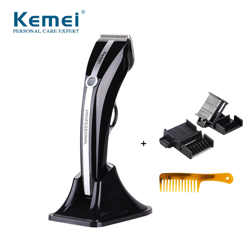 Kemei 8999 Professional Hair Clipper For Women Hair Trimmer Hair Cutting Machines With Nozzle Polisher HG Polishen For Long Hair