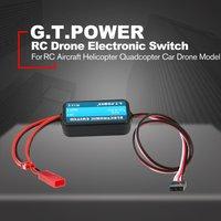 G T energía 0-40V mando a distancia interruptor electrónico RC partes para RC helicóptero Quadcopter coche Drone modelo