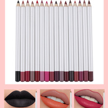 Lip Liner Wholesale No Brand Cosmetic Lip Liners Private Label Lipliner Waterproof 2.0MM Pencils Contour Makeup Lipstick Tool