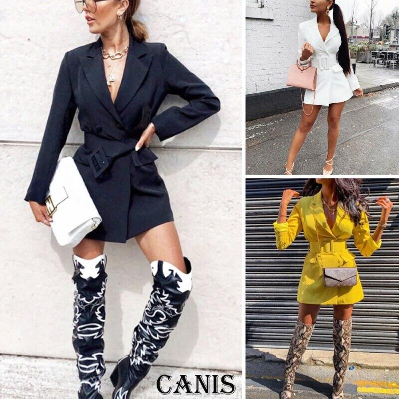 Fashion Women Casual Slim Business Blazer Suit Coat Jacket Outwear