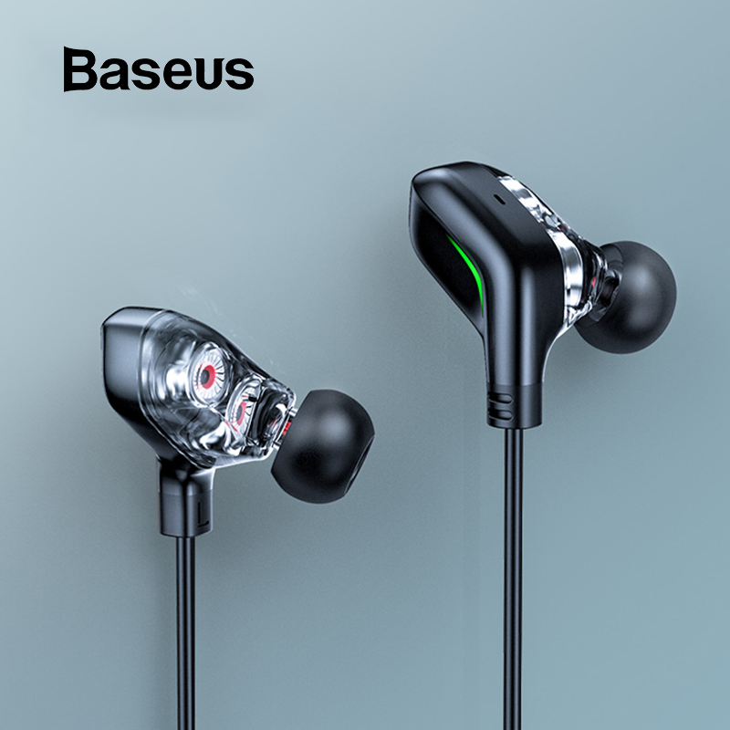 Baseus GAMO C18 Type C Gaming Earphone With Immersive Virtual 3D Stereo Sound Effect ,Grab Every Sound Detail While Playing Game