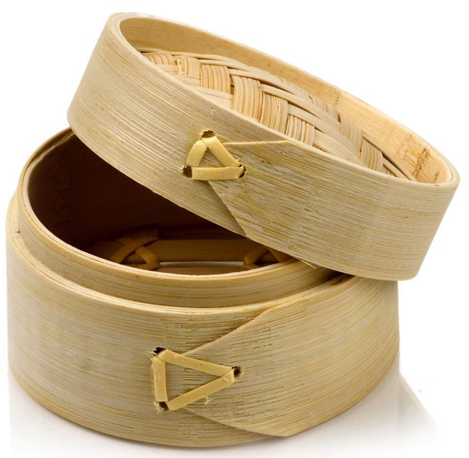 Promotion - Party Wedding Home Supplies, 80*65mm Tableware Handmade Mini Natural Bamboo Cage Steamer