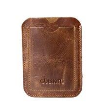 Slim Genuine Leather Wallet Credit ID Card Holder Purse Unis