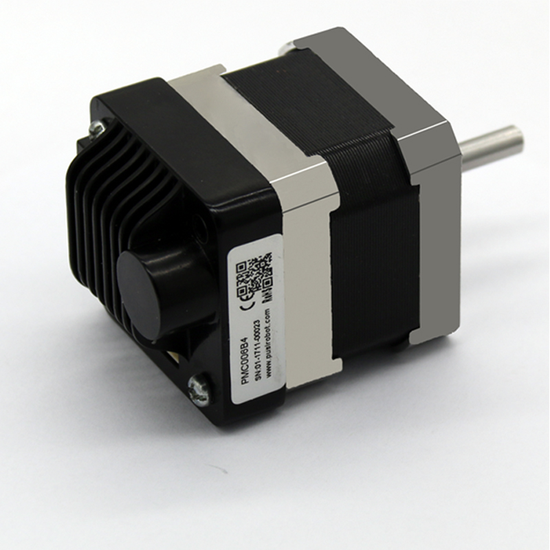 NEMA 17 RS485 Open-loop integrated stepper motor with controller driver PMC006 can match with breathing mask machine