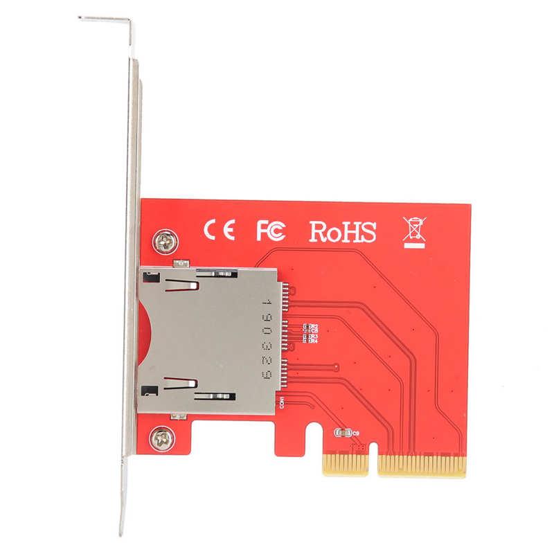 Pci-e adaptador cf leitor de cartão placa conversor módulo cf201 para windows/os x/linux pci-e adaptador leitor de cartão pci-e