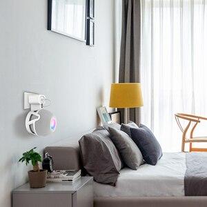 Image 3 - Wall Mount สำหรับ Homepod Mini Outlet สายแขวนลำโพงแบบพกพาประหยัดพื้นที่สำหรับ Homepod Mini ผู้ถืออุปกรณ์เสริม