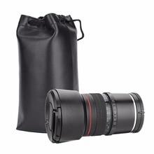 85 мм f/1,8 чистый ручной фокус Большая диафрагма Средний телефото полнокадровая ручная беззеркальная камера E объектив для Sony E Mount Camera